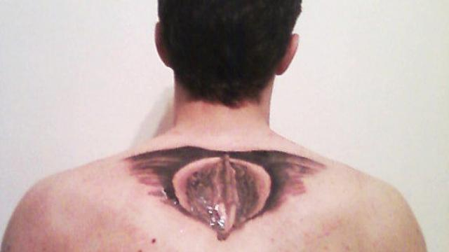 Tattoos vagina Girls With