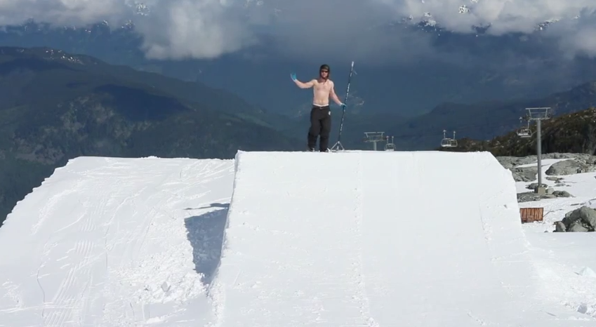 Blackcomb Glacier Open For Business - Whistler Summer Snowboard Camp's Opening Day Recap