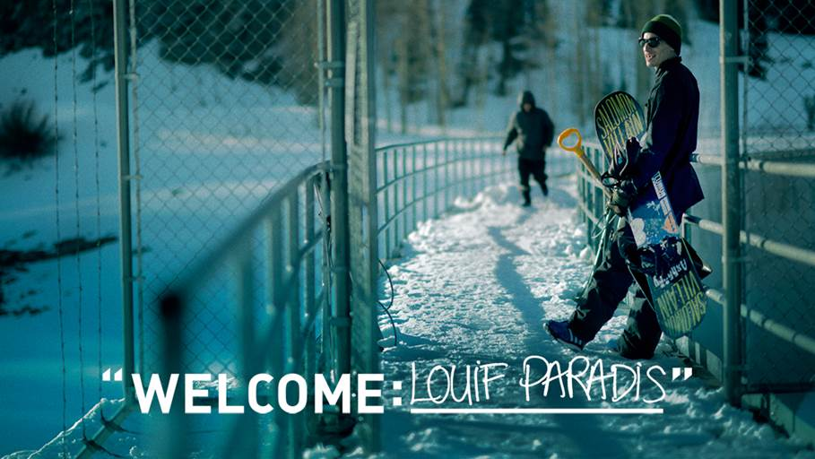 Adidas Snowboarding Adds Quebec-Born Shred Superstar Louif Paradis To It's Already Stacked Global Team
