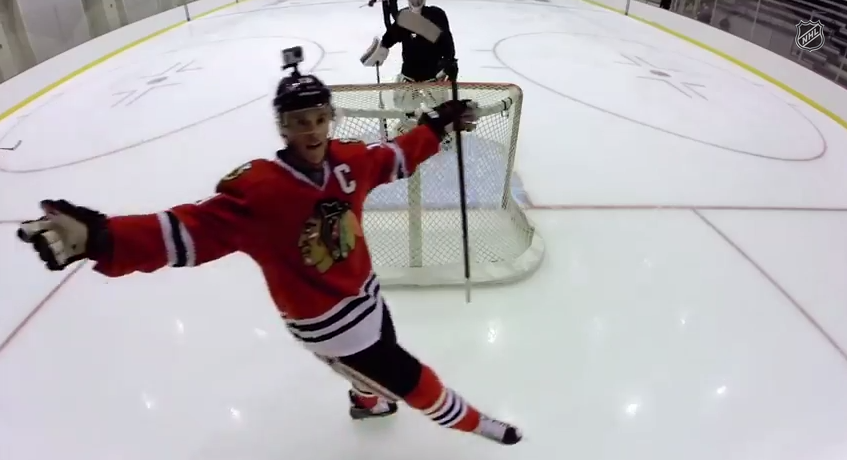 What Happens When You Give GoPros to a Bunch of NHL Stars?