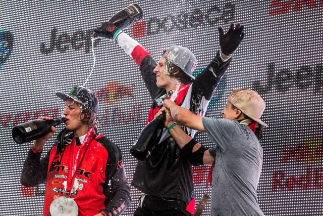 Red Bull Joyride 2015 podium | 33mag